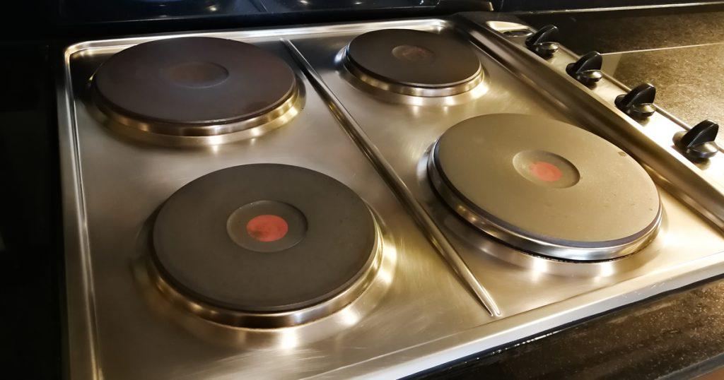 Plaque de cuisson en fonte (électrique)