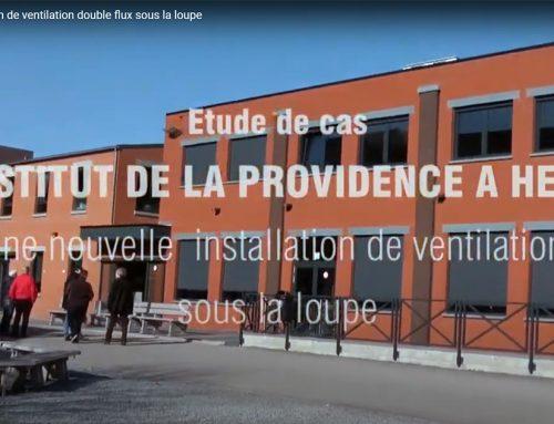 Une nouvelle installation de ventilation – La Providence Herve