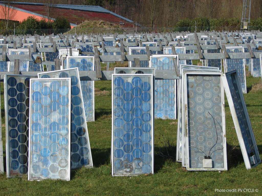 Recyclage des panneaux solaires